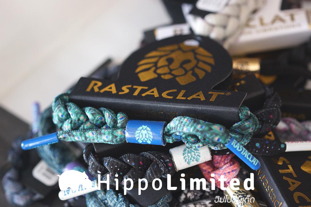 สายรัดข้อมือ Rastaclat Classic - Emerald Peacock
