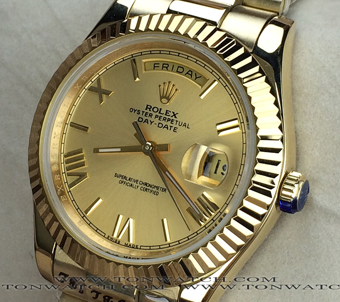 DAY-DATE PRESIDENT YELLOW GOLD 40 MM