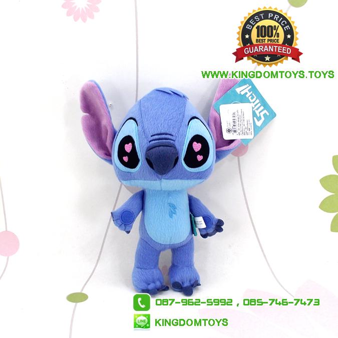 ตุ๊กตา สติ๊ด Stitch ตาหัวใจ ท่ายืน 8 นิ้ว [Disney Stitch]