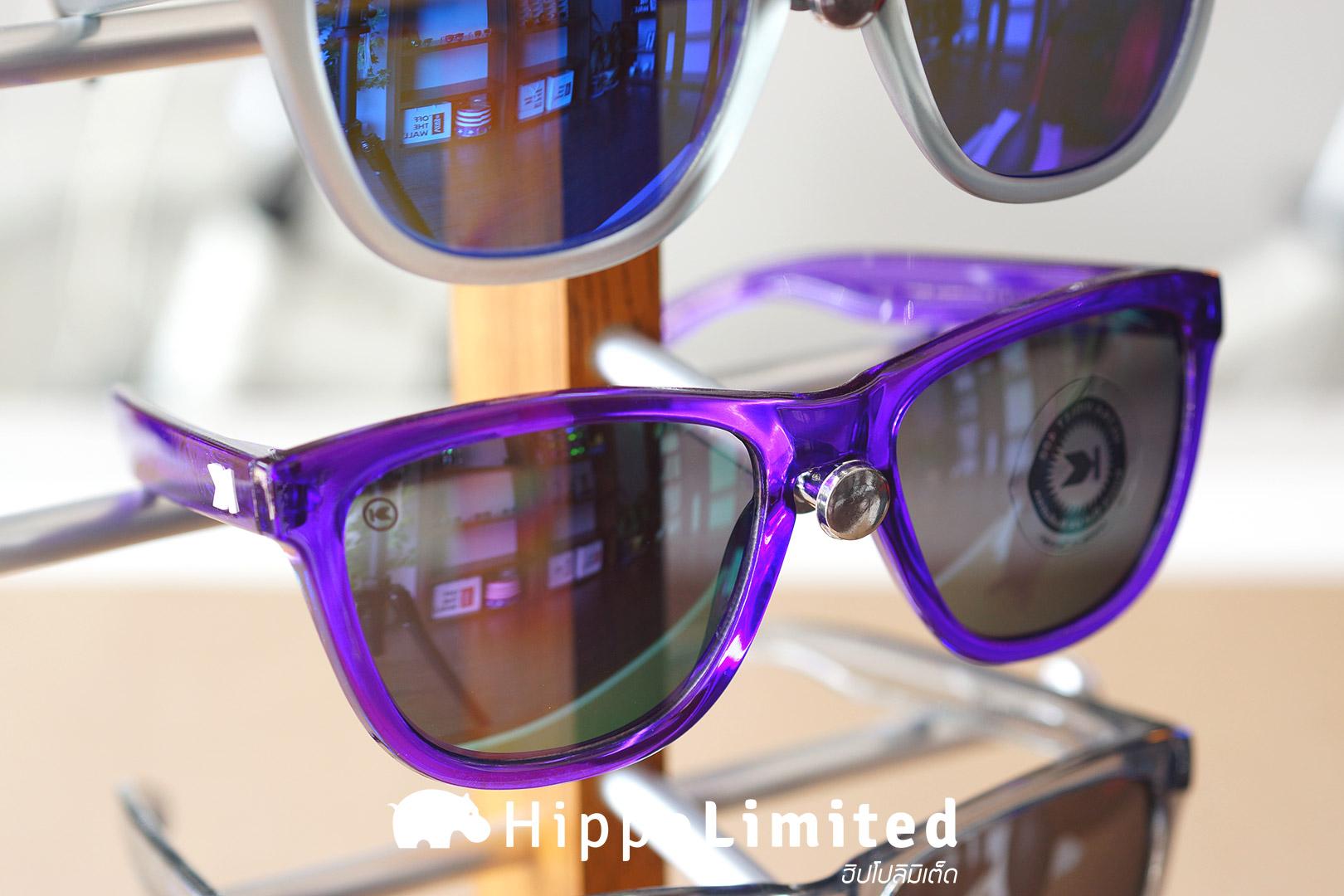 แว่น Knockaround Premiums Sunglasses - Purple Monochrome