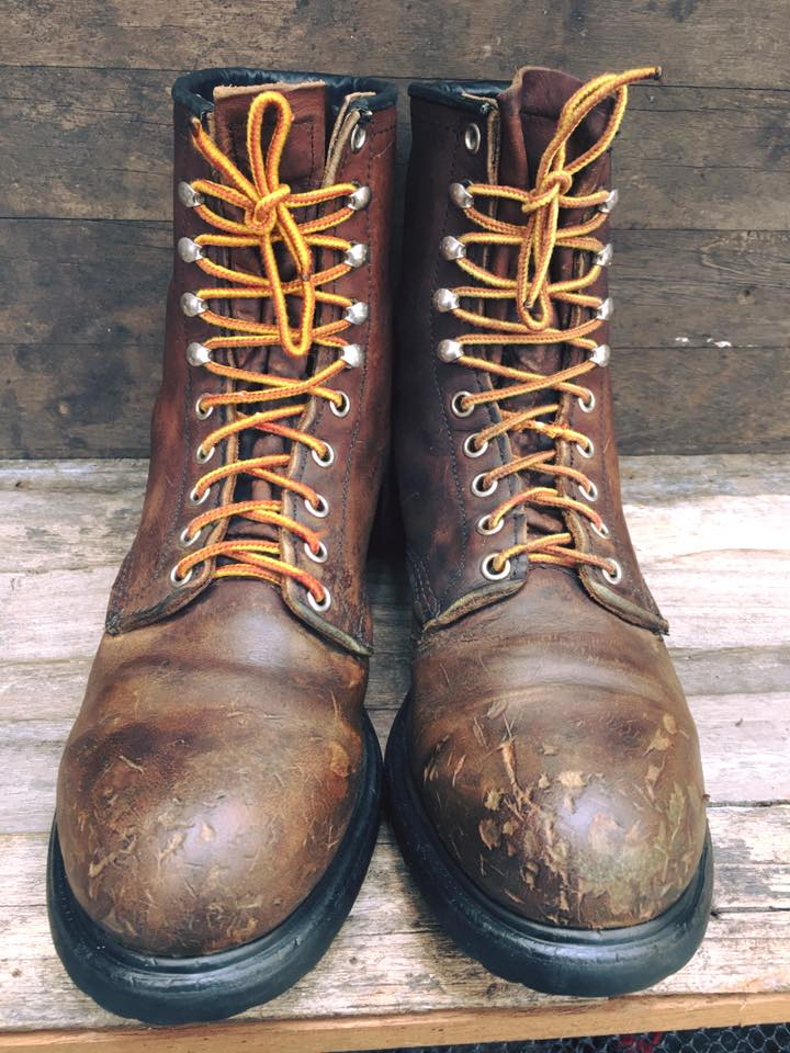 Red wing 2233 หัวเหล็ก size 9.5D