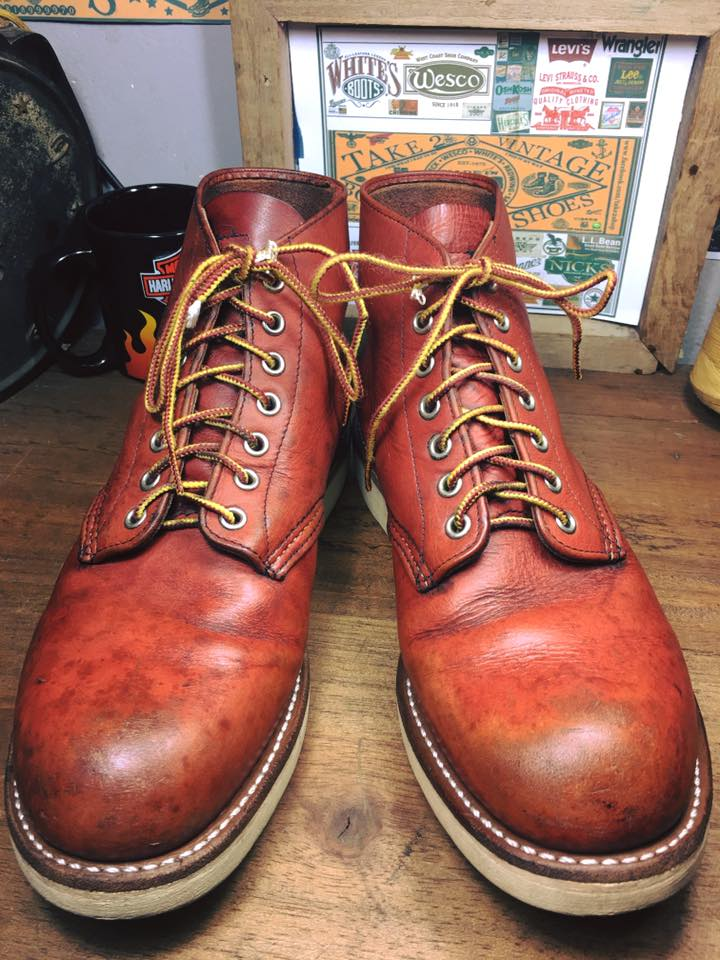 . Red wing 8166 size 8D