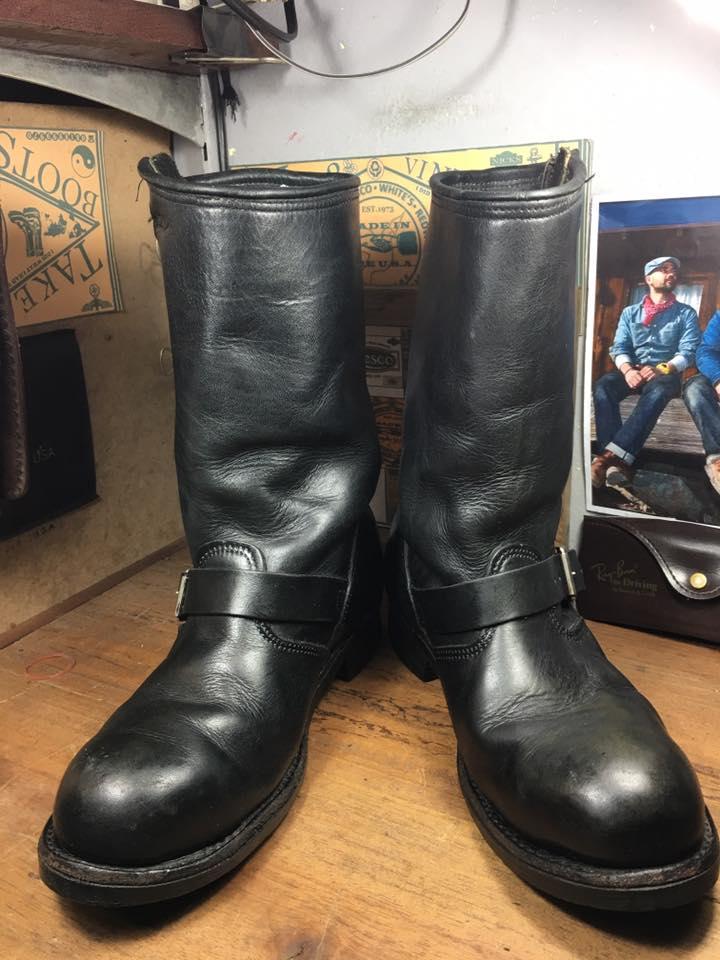 Harley Davidson engineer boots หัวเหล็ก size 8 /26cm งาน USA