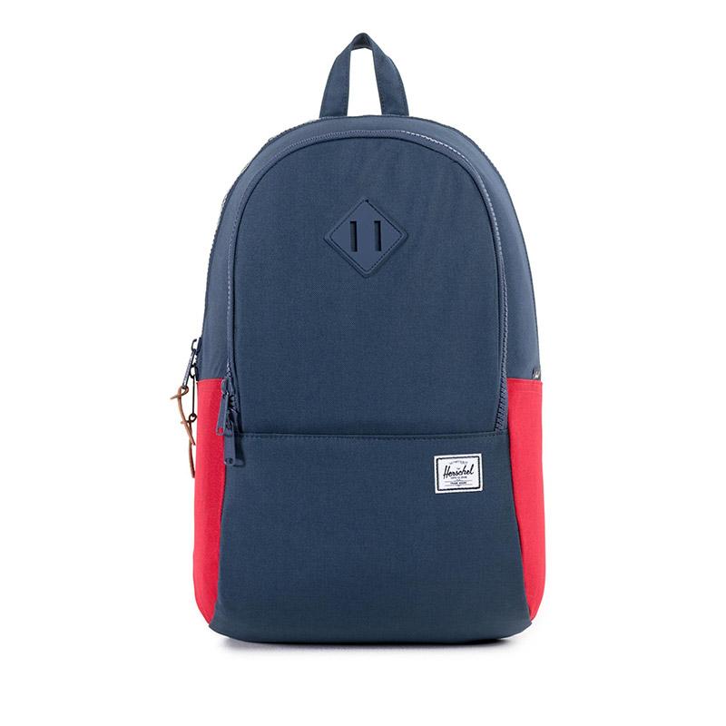 Herschel Nelson Backpack - Navy / Red / Navy Diamonds