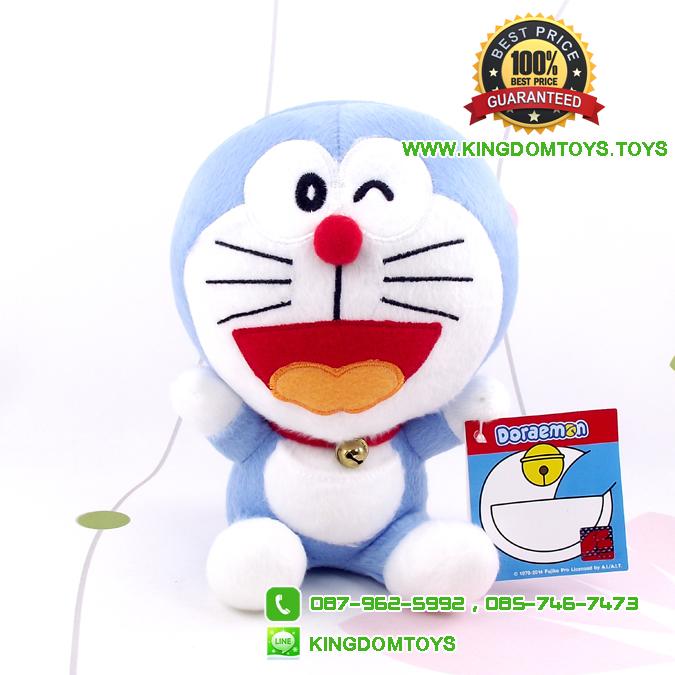 ตุ๊กตา โดเรม่อน อ้าปากสีฟ้า Doraemon 7 นิ้ว [Fujiko Pro]