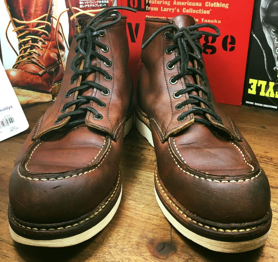 20.Vintage RED WING 1907 size 9.5D