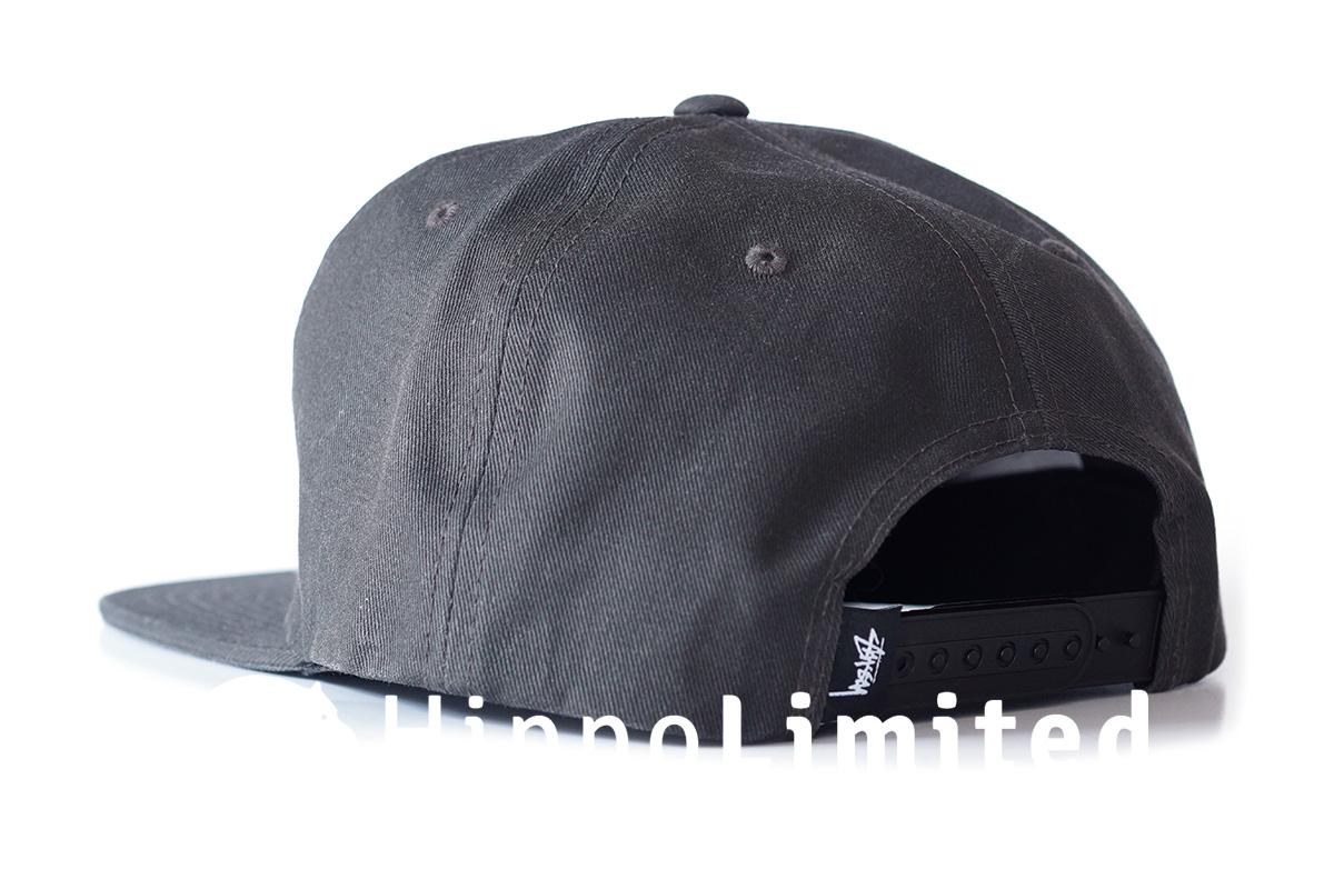 Stussy Stock Pigment Snapback - Black