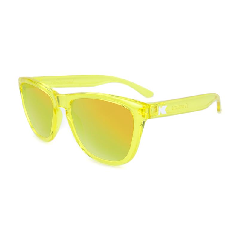 แว่น Knockaround Premiums Sunglasses - Yellow Monochrome