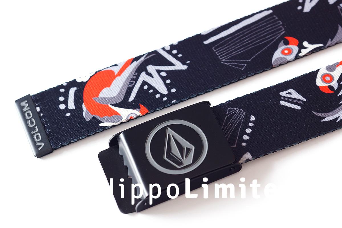 Volcom Circle Premium Belt - Graphite