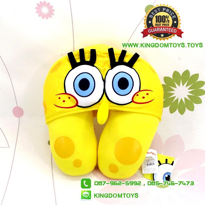 หมอนรองคอสปอนจ์บ๊อบ SpongeBob [Nickelodeon]