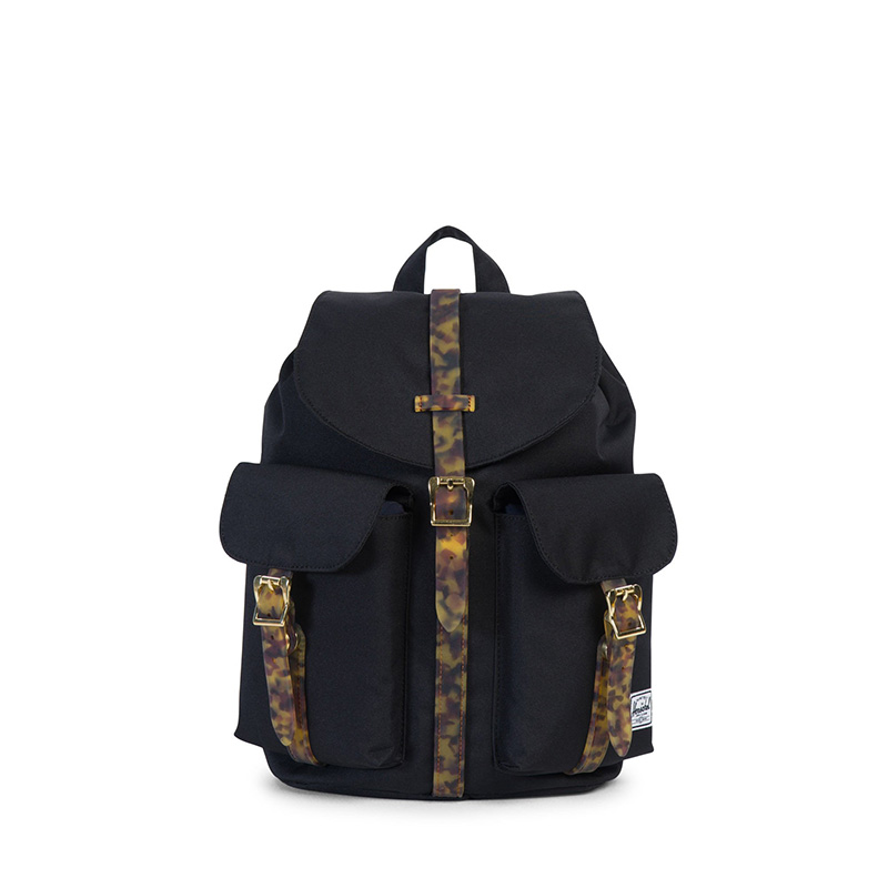 Herschel Dawson Backpack | Womens - Black / Tortoise Shell
