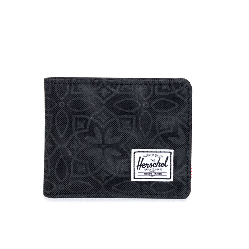Herschel Roy Wallet - Black Khatam