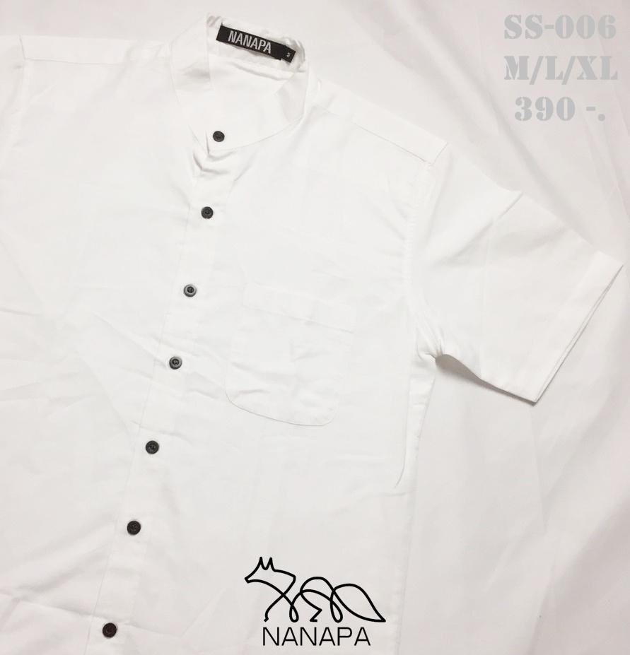 เสื้อเชิ้ตแขนสั้น ชาย NANAPA Shirts SS-006