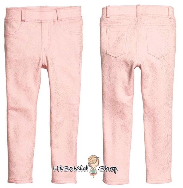 1021 H&M Treggings - Pink ขนาด 7-8,8-9 ปี