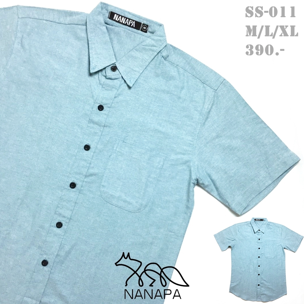 เสื้อเชิ้ตแขนสั้น ชาย NANAPA Shirts SS-011