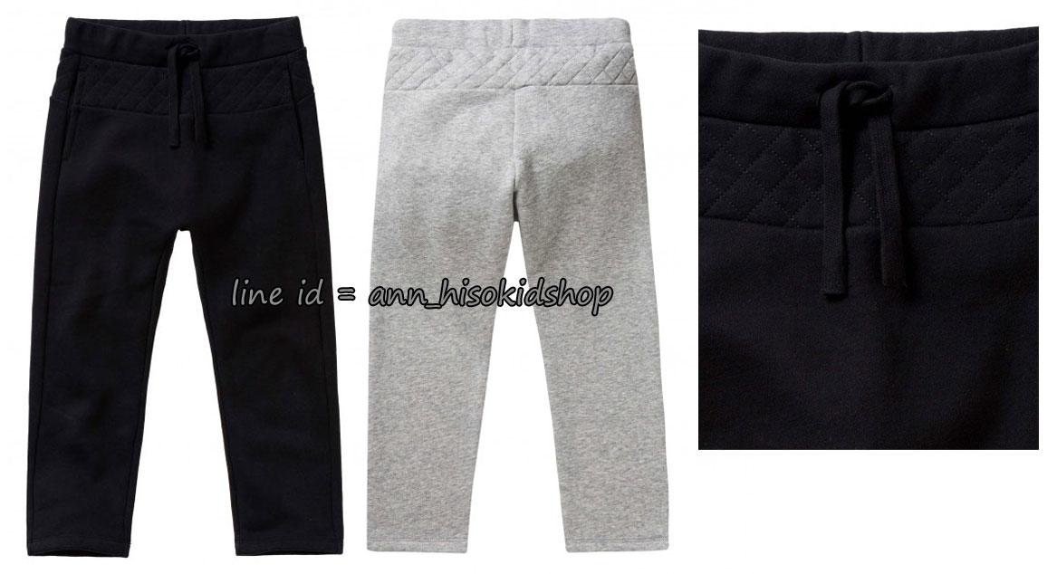 1717 Benetton Sweatpants - Black/Grey ขนาด 7-8,8-9,11-12 ปี