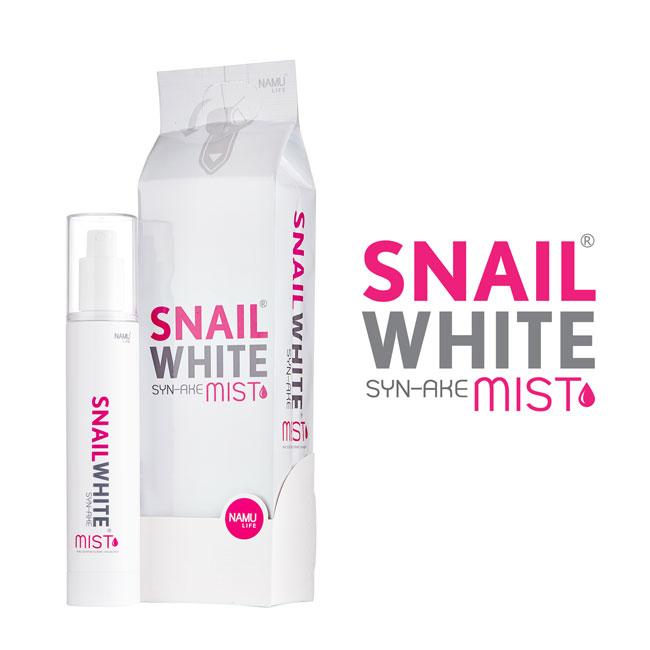 SNAILWHITE SYN-AKE MIST (100 มิล) 1 ชิ้น :สเปรย์ฉีดหน้า สารสกัดจากเมือกหอยทาก