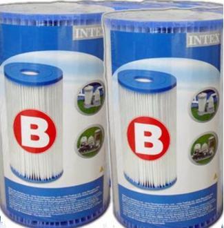 INTEX ไส้กรองน้ำขนาด (B) แพ็คคู่