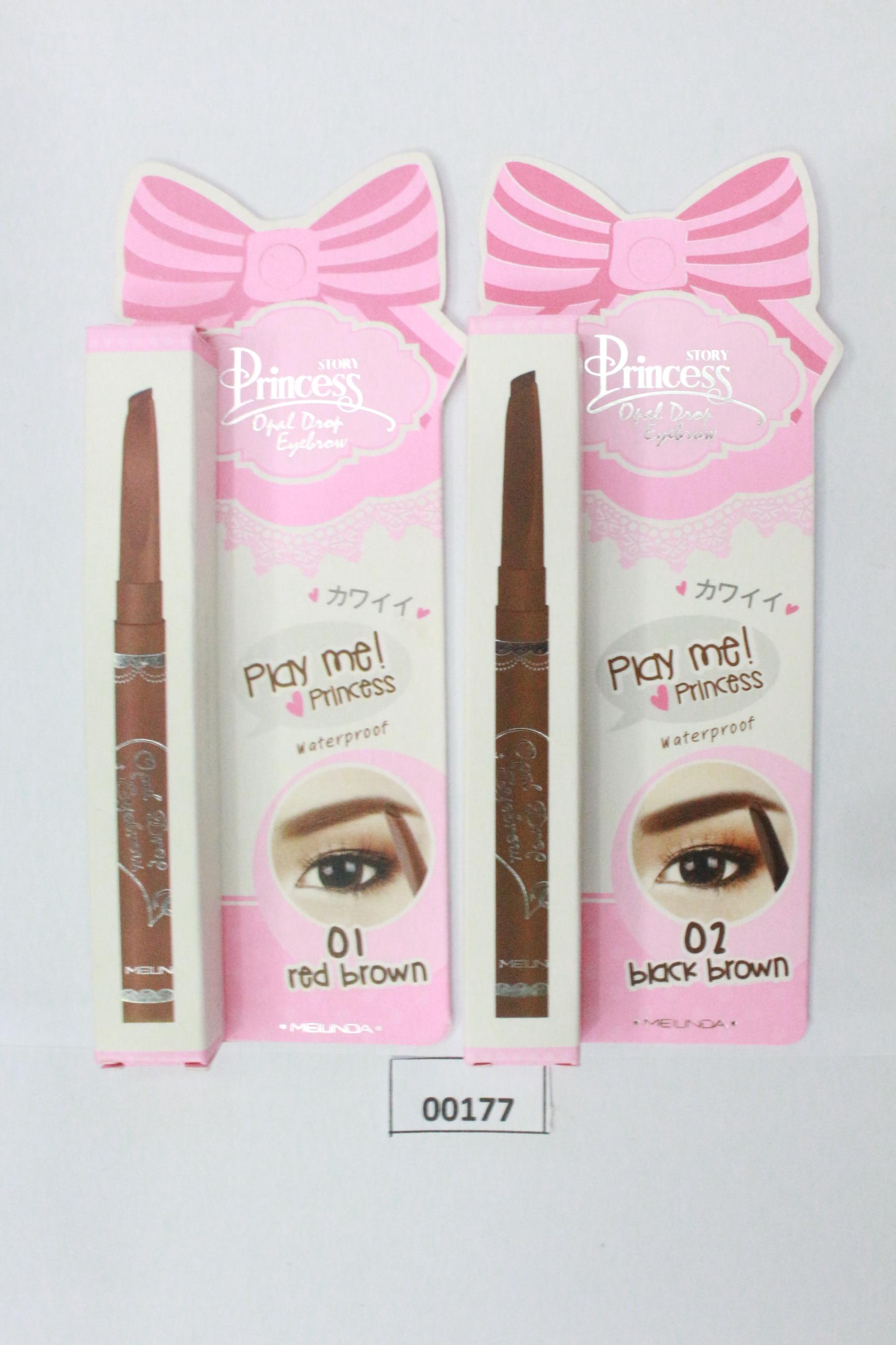 ดินสอเขียนคิ้ว Princess Story Opal Drop Eyebrow เนื้อเนียน กันน้ำ ติดทนนาน