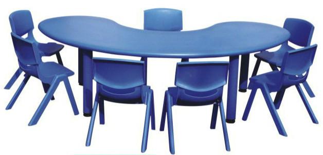 โต๊ะเด็กเล็กรูปถั่ว