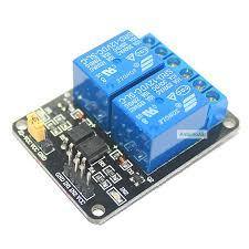 โมดูลรีเลย์ 2ช่อง 5V Optocoupler