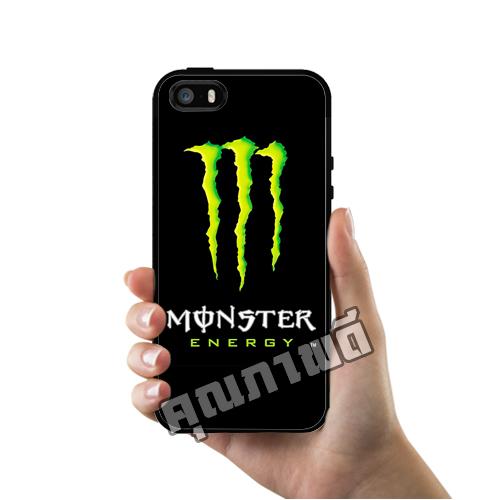 เคส iPhone 5 5s SE ลายรถซิ่ง Monster Energy เคสสวย เคสโทรศัพท์ #1223