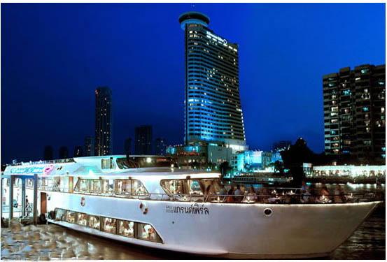 ล่องเรือแกรนด์เพิร์ล Grand Pearl's Luxurious Cruise