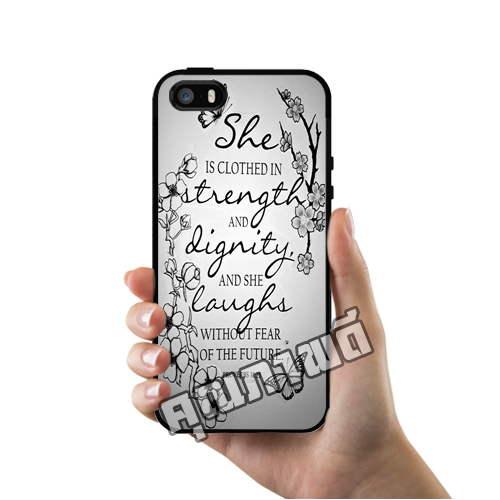 เคส iPhone 5 5s SE โลโก้ บทไบเบิ้ล 2 เคสสวย เคสโทรศัพท์ #1131