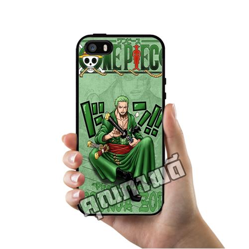 เคสไอโฟน 5 5s SE โซโรเท่ๆ นักดาบ One Piece เคสโทรศัพท์ Apple iPhone #1467