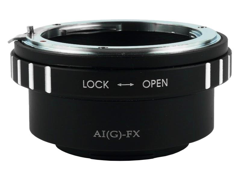 Nikon(G)-FX AI(G)-FX Mount Adapter Nikon Lens to Fujifilm X Mount Camera ปรับรูรับแสงได้