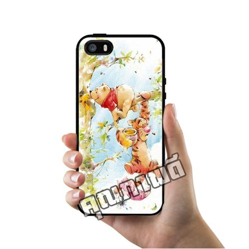 เคส ซัมซุง iPhone 5 5s SE หมีพูห์ และ เพื่อนๆ เคสน่ารักๆ เคสโทรศัพท์ เคสมือถือ #1210
