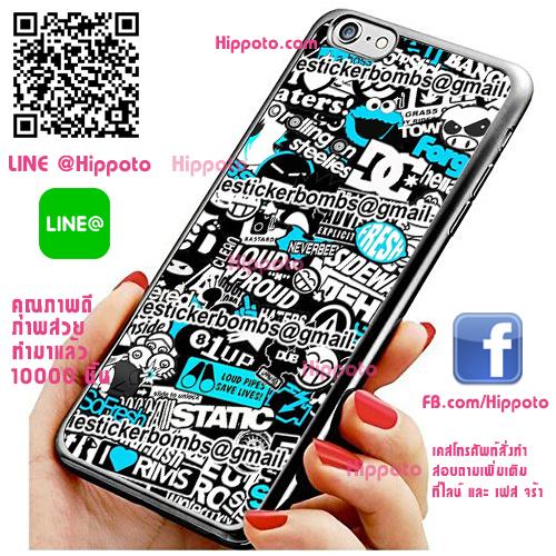 เคส ไอโฟน 6 / เคส ไอโฟน 6s เคสสติกเกอร์บอมบ์ เคสสวย เคสโทรศัพท์ #1355