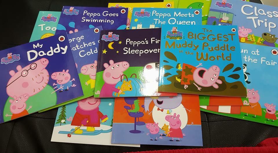 นิทาน peppa pig set 17 เล่ม ( (หนังสือ peppa pig, peppa pig books)
