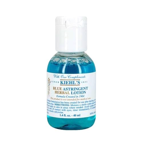 *TESTER* Kiehl's Blue Astringent Herbal Lotion 40ml