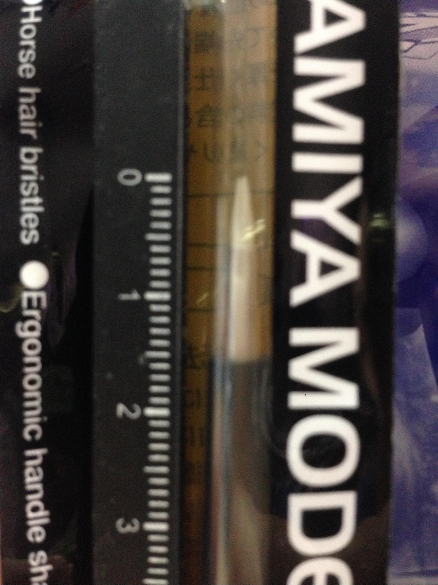 (เหลือ 1 ชิ้น รอเมล์ฉบับที่2 ยืนยัน ก่อนโอน) 87157 Modeling Brush HG Flat Brush X Small
