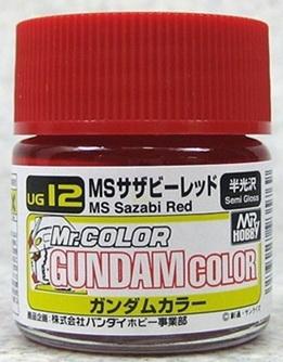 UG-12 MS sazabi red