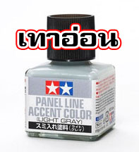 Panel Accent Color Light Gray เทาอ่อน