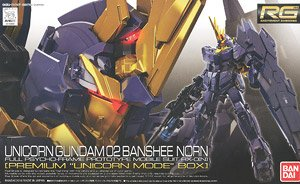 RG 1/144 RX-0 [N] Unicorn Gundam 02 Banshee Norn [Premium `Unicorn Mode` Box] (Gundam Model Kits)