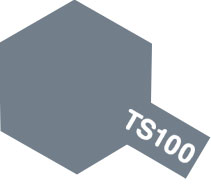 TS-100 semi-gloss bright gun metal 100ml.