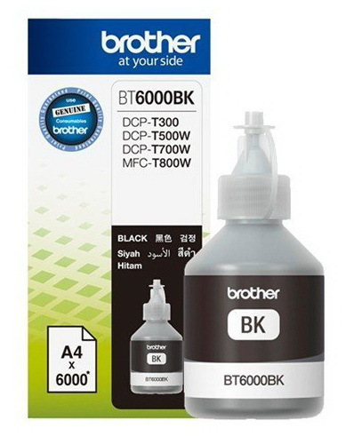 หมึกเติม Brother BT6000BK Black
