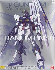 86575 MG1/100 RX-93 Nu gundam Ver.ka Titanium Finish 16000 เยน