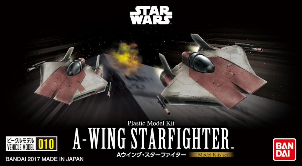 Vehicle Model 010《STARWARS》A-Wing Starfighter 600Yen