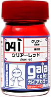 gaia 041 Clear Red 15ml.