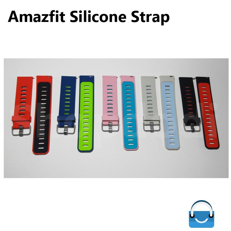สายนาฬิกา Amazfit Pace รุ่น AS1 ยางซิลิโคน
