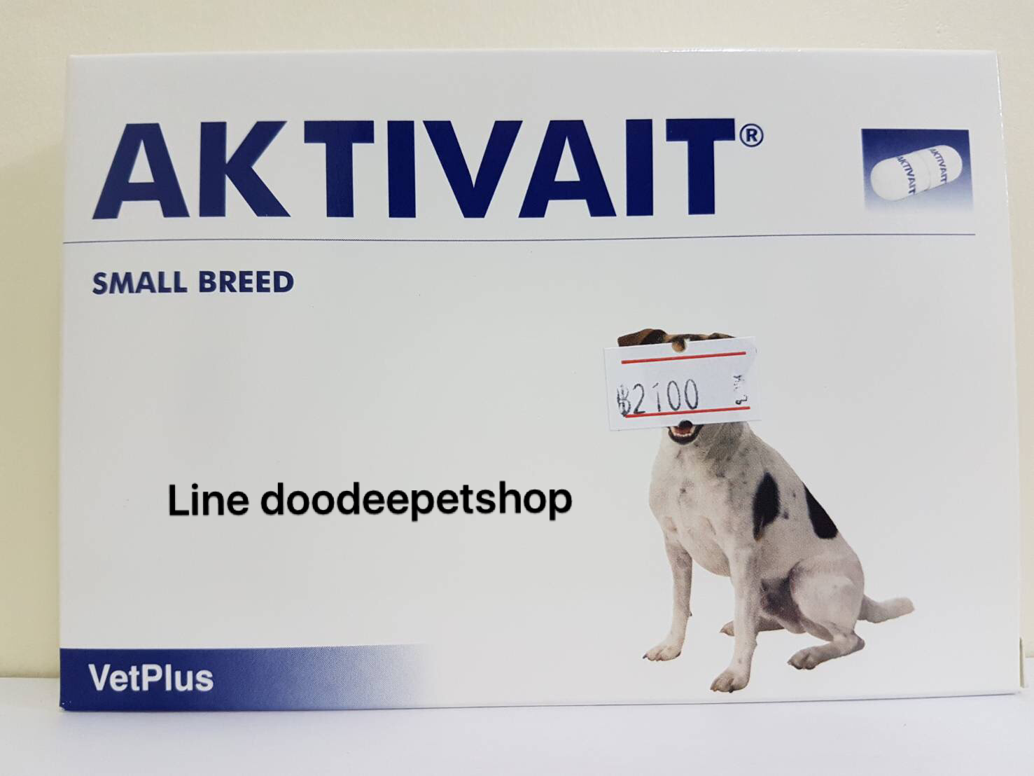 Aktivait small dog 60 เม็ด Exp.05/19