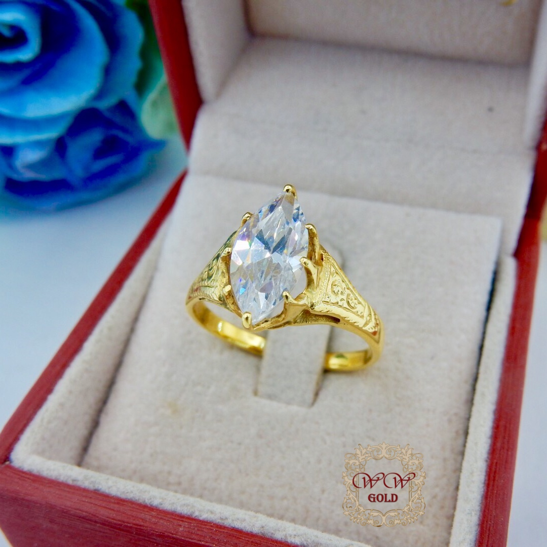 แหวนลดราคา (เพชรสวิส cz)