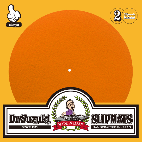 "Dr. Suzuki ""Mix Edition"" Slipmats (Orange)"