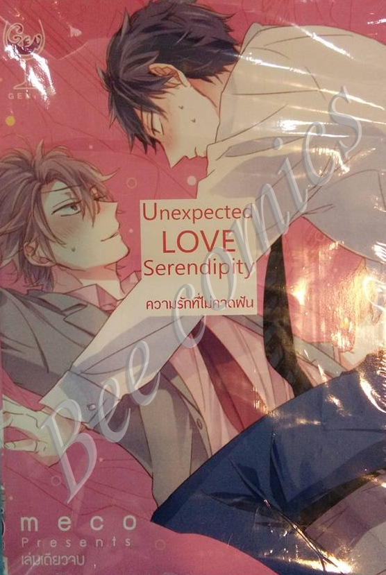 Unexpected love serendipity ความรักที่ไม่คาดฝัน สินค้าเข้าร้าน 16/1/60