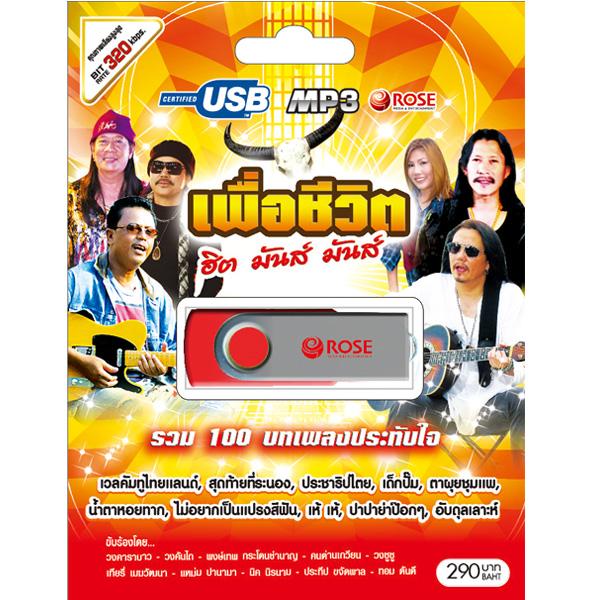 USB/100เพลง เพื่อชีวิตฮิตมันส์มันส์/290