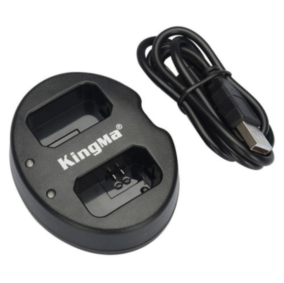 KingMa NP-FW50 dual charger For sony